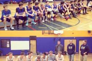 Jr and Sr Basketball teams