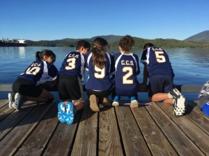 Grade 8 Volleyball in Prince Rupert