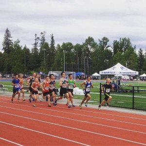 CCS' Connor Block leading the pack at Track and Field Provincials